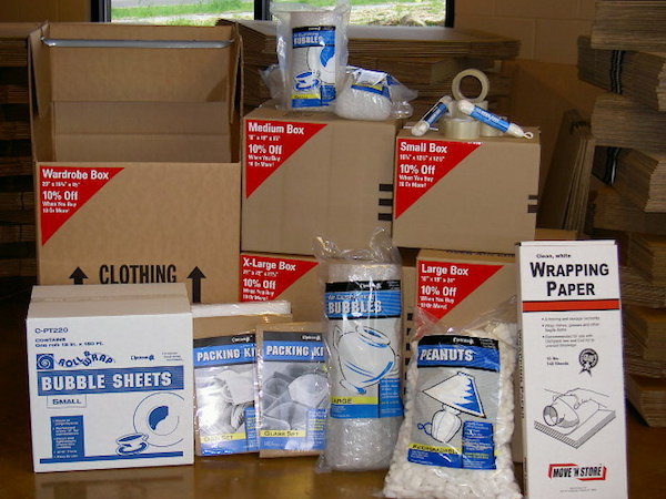Packing Supplies from Sioux Falls Movers